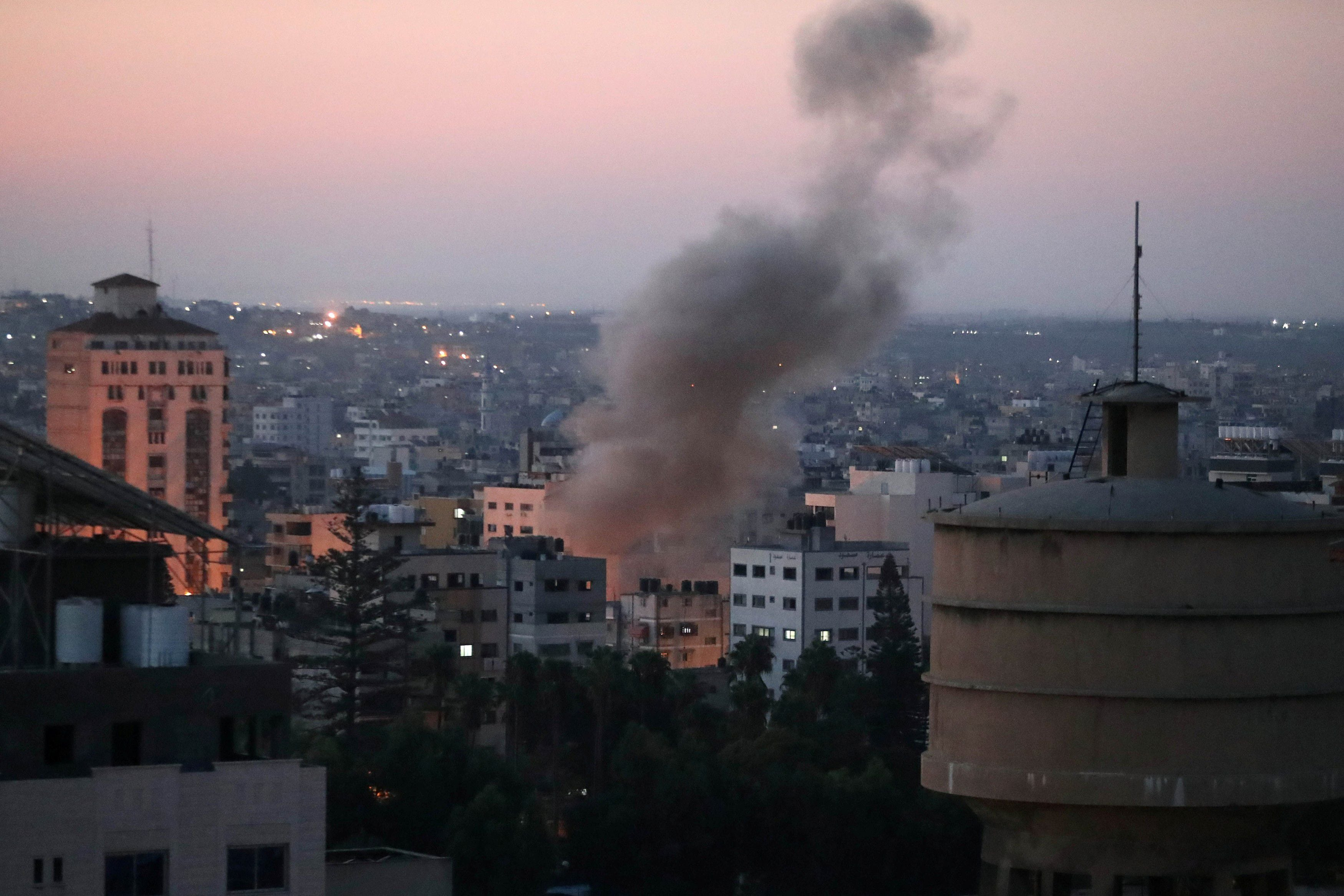 Israel Strikes Targets in Gaza in Response to Rocket Launch