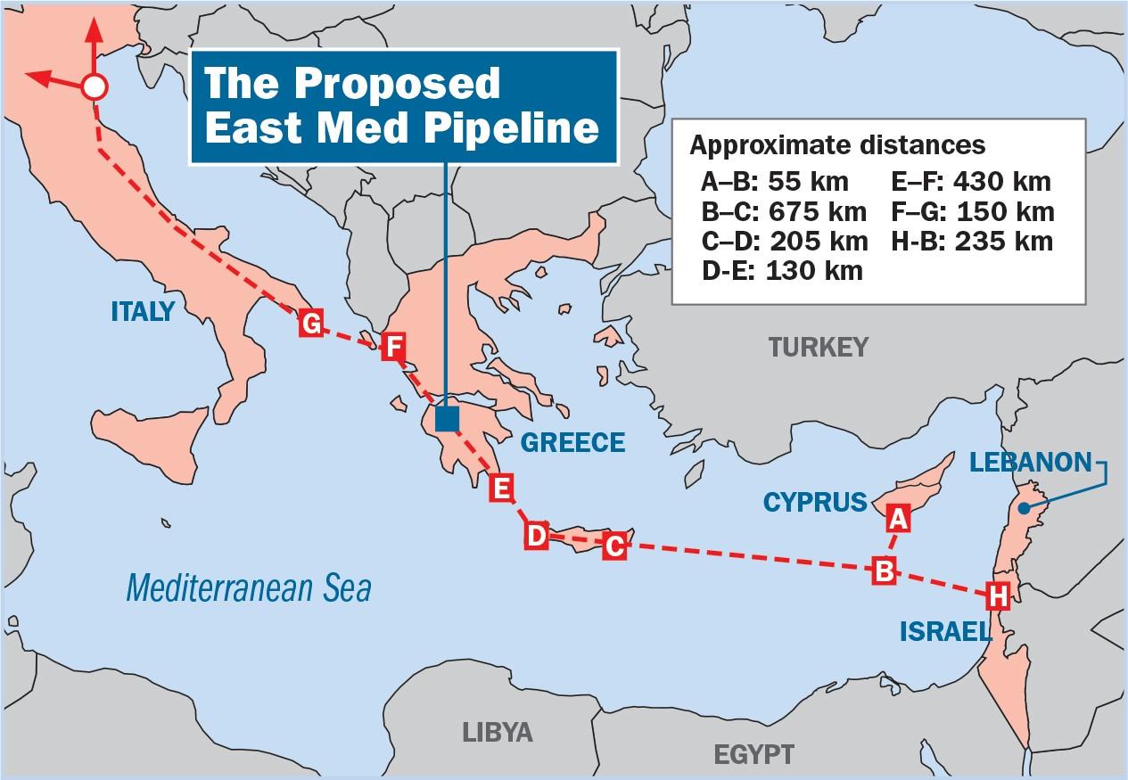 Turkey And Israel Consider Offshore Gas Pipeline Through East Mediterranean