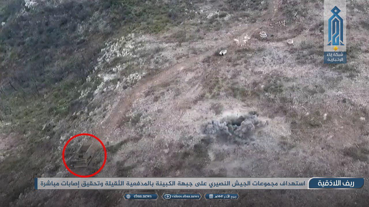 Hay'at Tahrir Al-Sham Repels Syrian Army Attack In Northern Lattakia (Photos, Map)