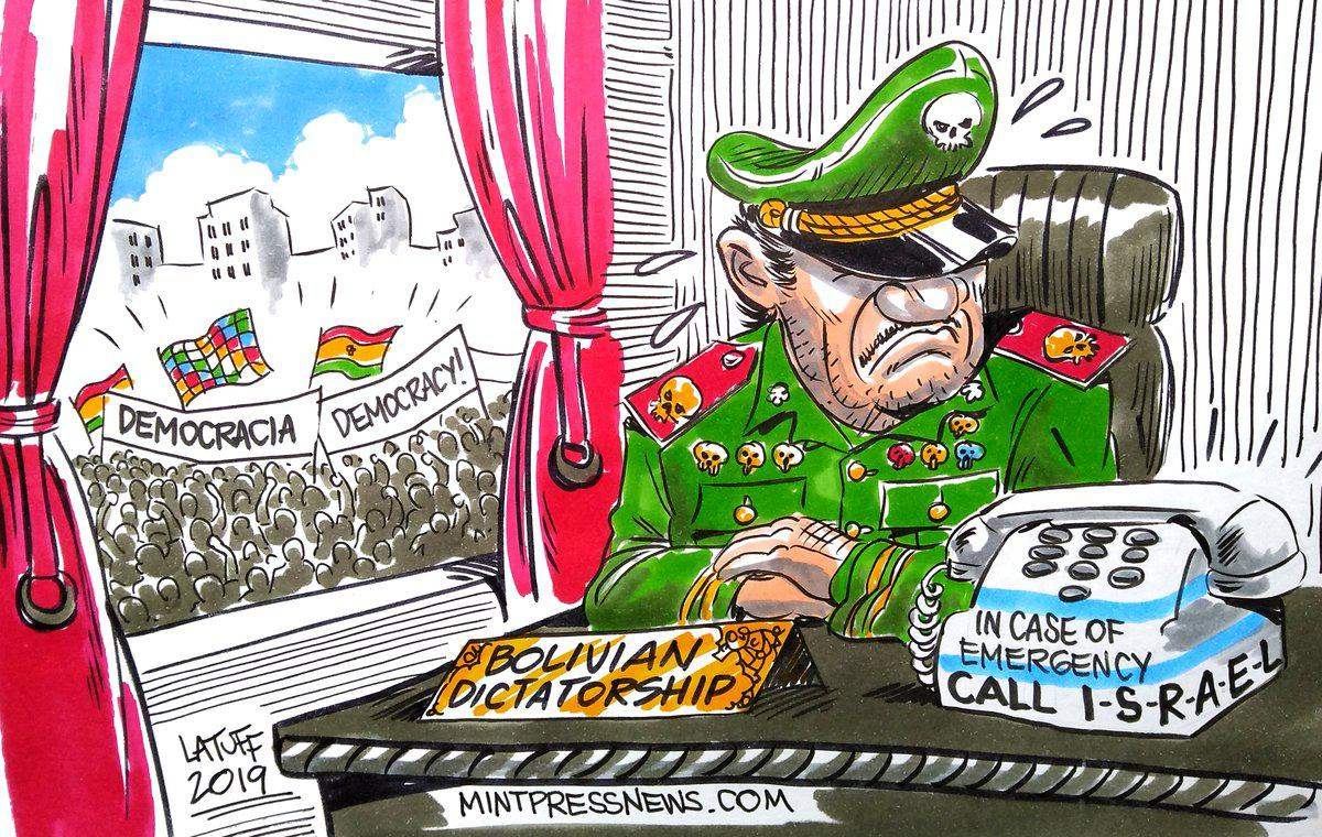 """Bolivian Coup Government Calls Israel For Assistance in """"Fighting Terrorists"""""""