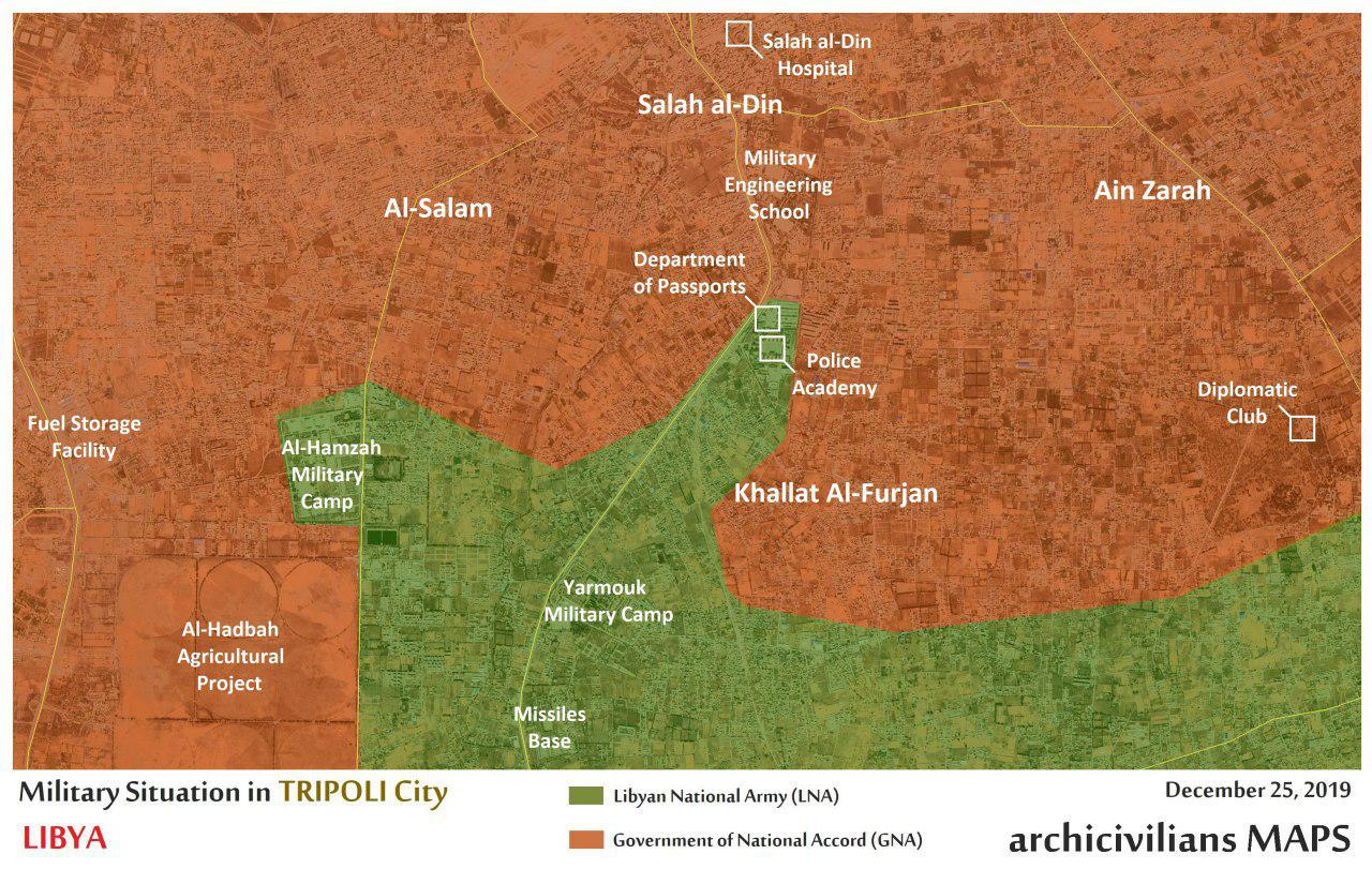 Libyan National Army Resumed Advance On Tripoli, As Deadline Provided To GNA Expired