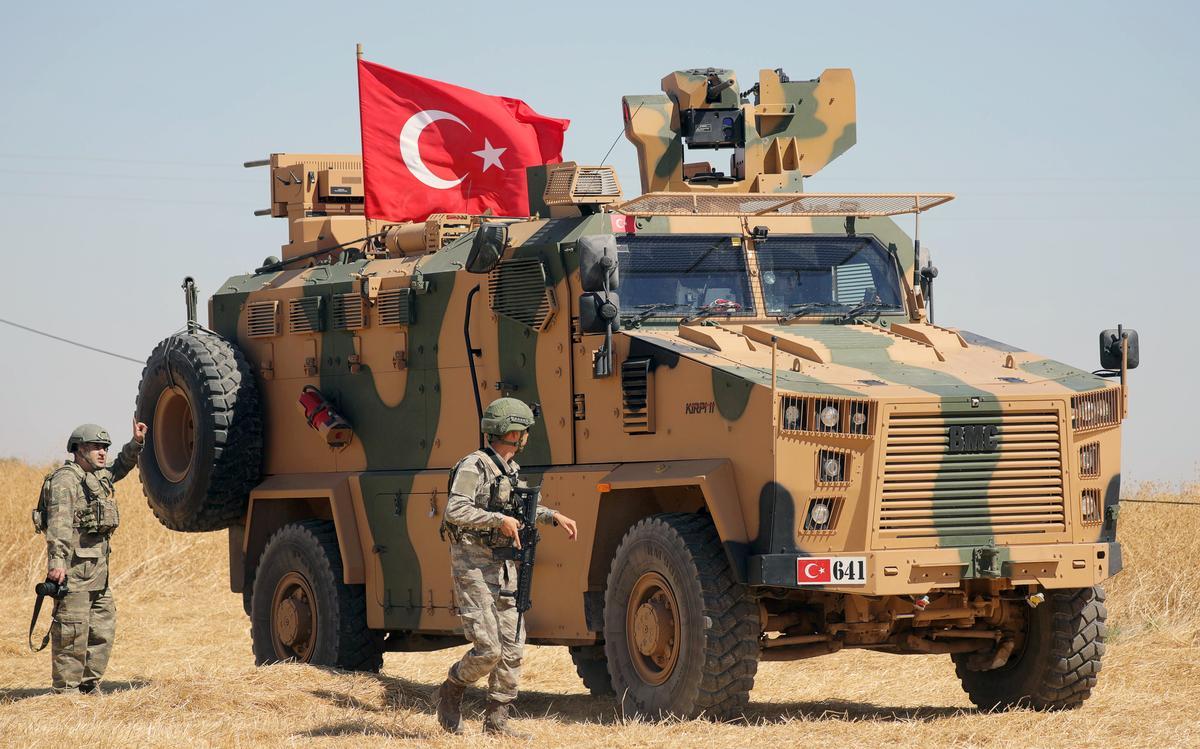 "Turkey Says It ""Neutralized"" Upwards of 1,200 YPG/PKK Members Since Operation ""Peace Spring"" Began"