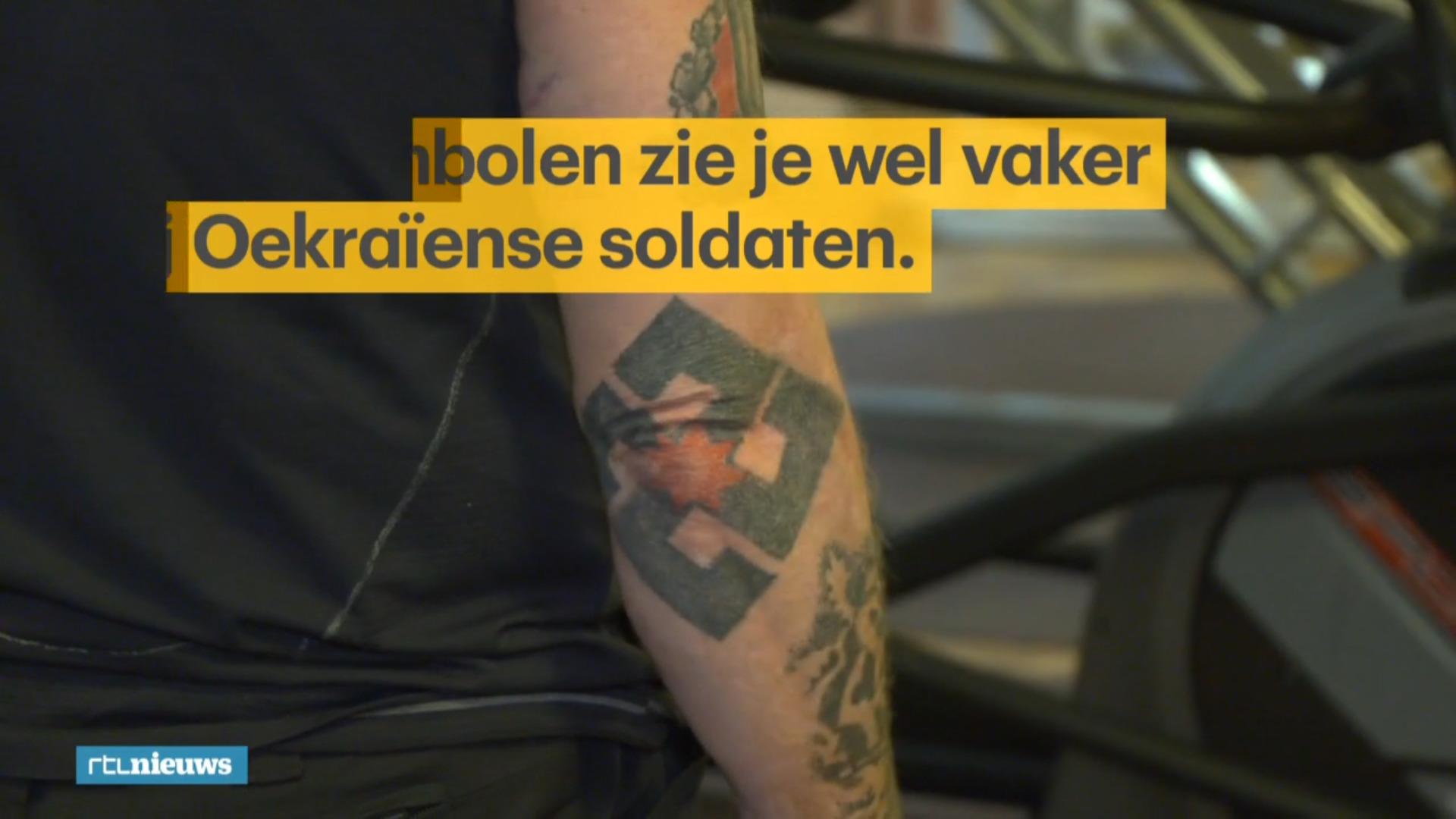 """My Swastika has Curved Edges, I am not a Nazi"": Ukrainian Defender Of Democracy To Dutch Media"