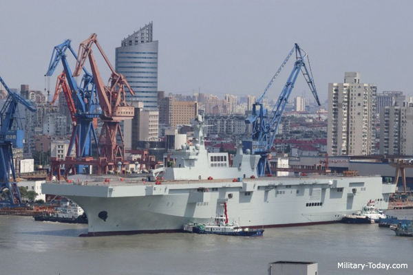 Chinese Navy Sets New World Record, Launching 23 New Surface Warships In One Year