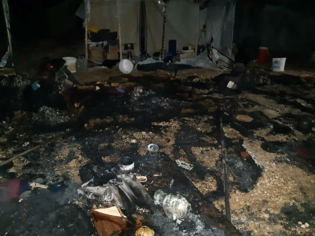 Wives Of ISIS Terrorists Burn Woman With Her Kids Alive In SDF-run Al-Hawl Camp (Photos)