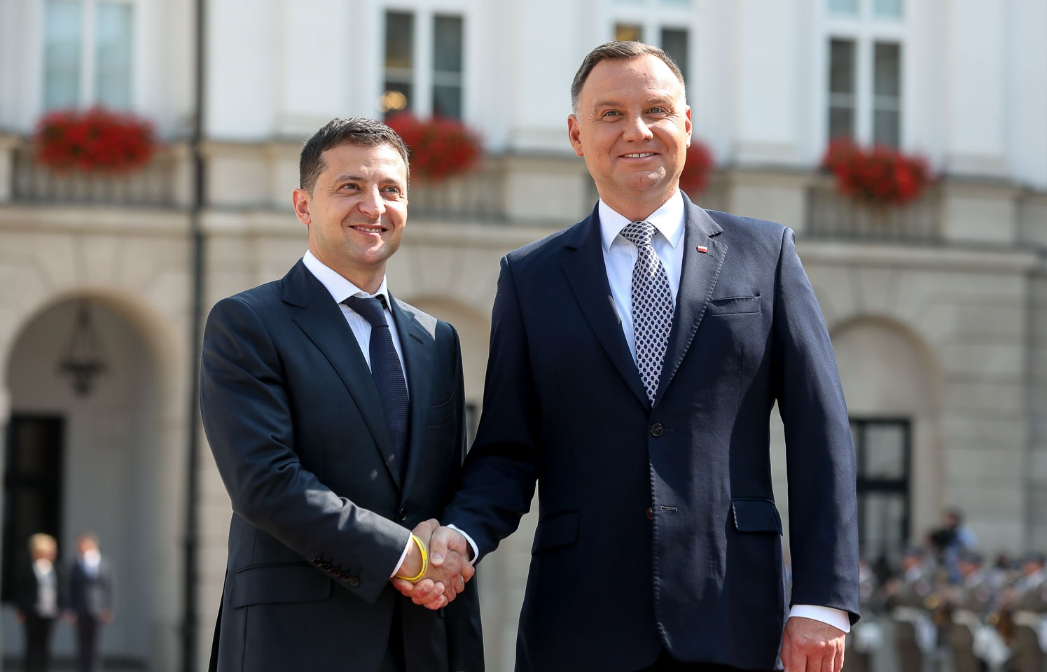 Not Allowed To Speak in Jerusalem, Zelensky and Duda Rewrite History At Poland's Holocaust Remembrance Event