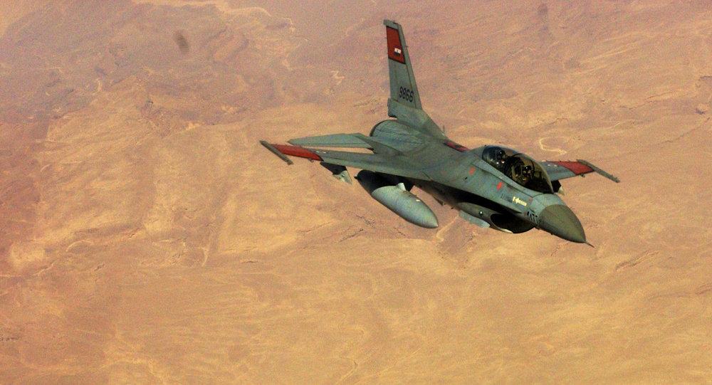 ISIS Claims F-16 Fighter Jet Crashed In Egypt's North Sinai
