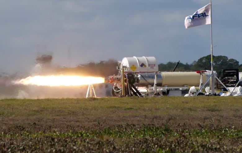 US Air Force Conducts Ground Test Of Hypersonic X-60A Missile