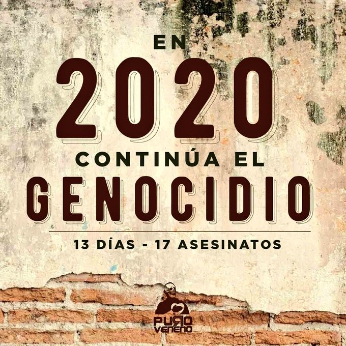 Colombia: Social Movements Preparing or the First Mobilizations of 2020