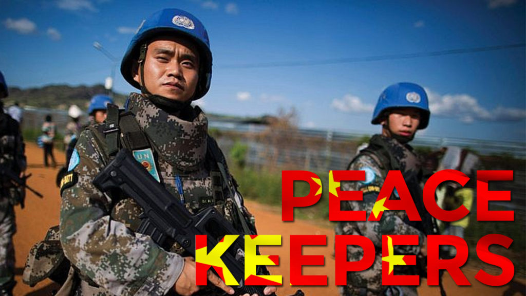 China Expands Military And Political Influence Through UN Peacekeeping Operations