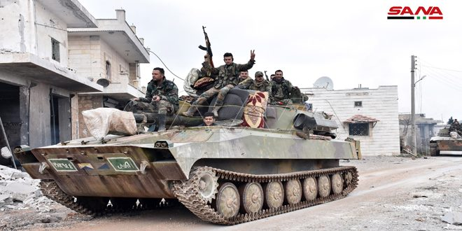 Video Shows Moment When First Syrian Army Troops Entered Militant Stronghold Of Maarat Al-Numan