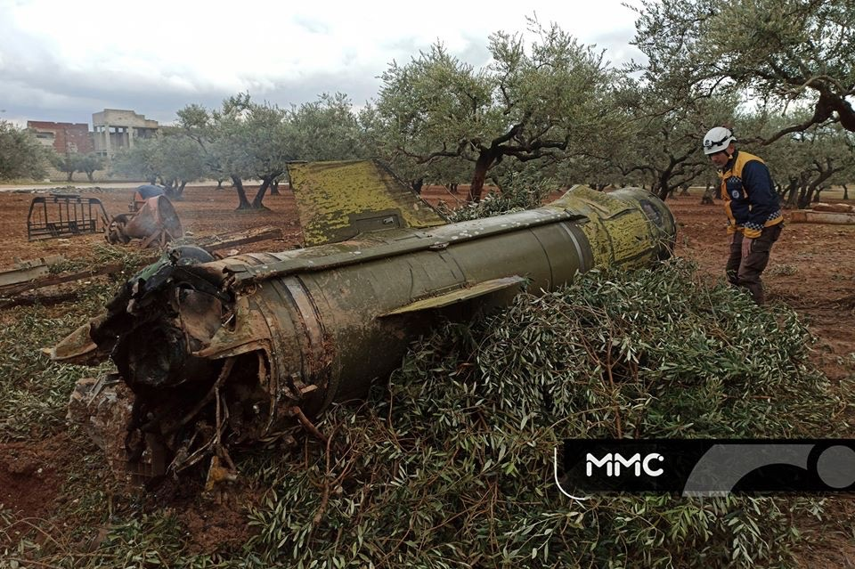 Syrian Army Launched Tochka Tactical Missile At Militants' Positions Near Sarmin. Militants Report Civilian Casualties
