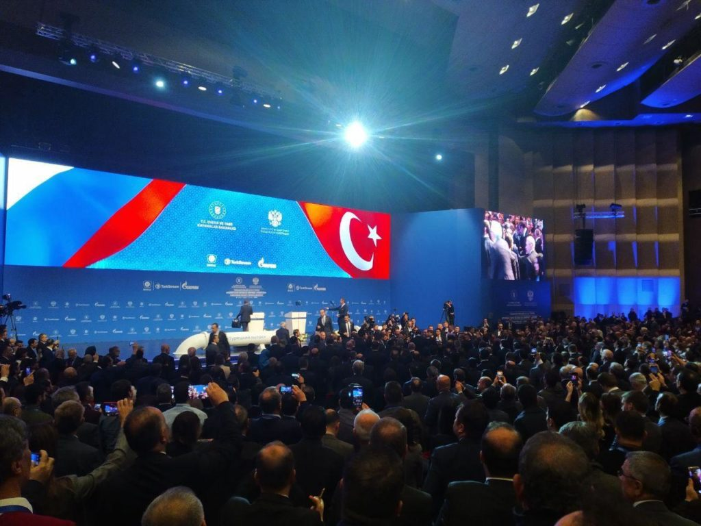Erdogan & Putin Launch TurkStream Gas Pipeline After Face-To-Face Meeting