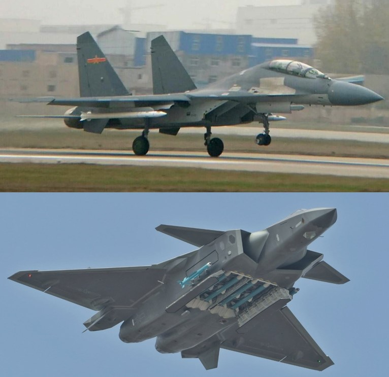 PLAAF J-16 and J-21 aircraft would be used in concert to engage and defeat key U.S. aerial assets such as AWACs, AEW&C and refueling aircraft, as well as to interdict long range bombers dispatched from Guam. Guam is also well within the range of numerous Chinese ballistic missiles.