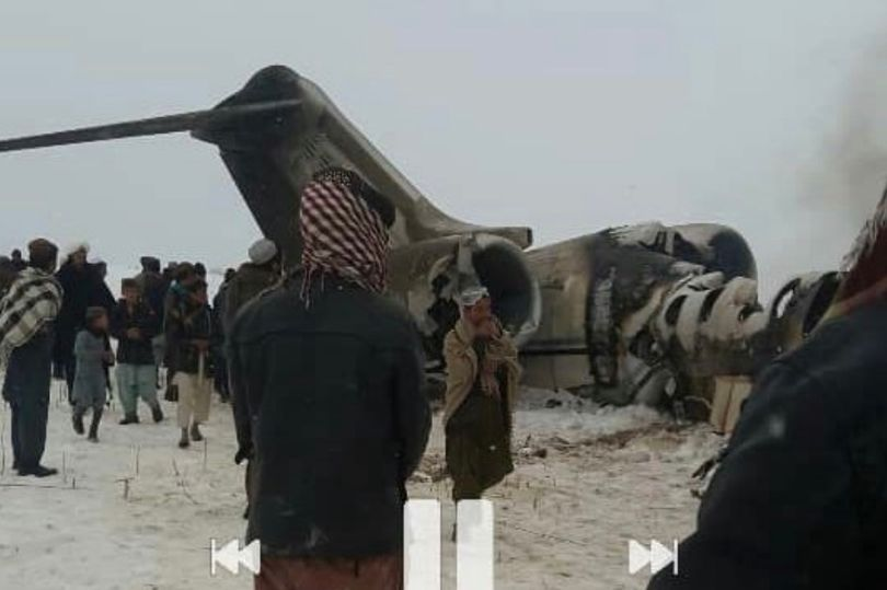 US Air Force Bombardier E-11A Crashes Into Taliban-Controlled Ghazni Province (UPDATED)