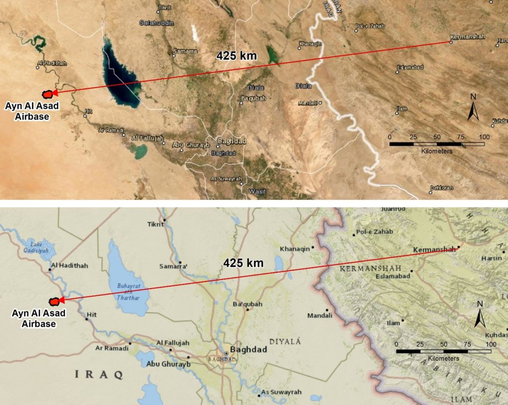 Analysis of the Iranian missile strikes on Ayn Al Asad Airbase