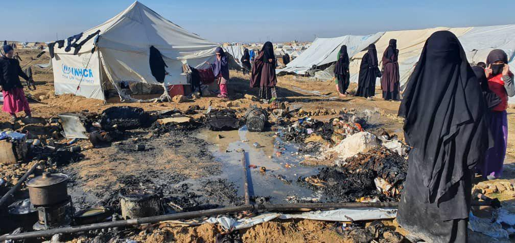 ISIS Wives Murder Iraqi Man In Syria's Notorious Al-Hawl Camp