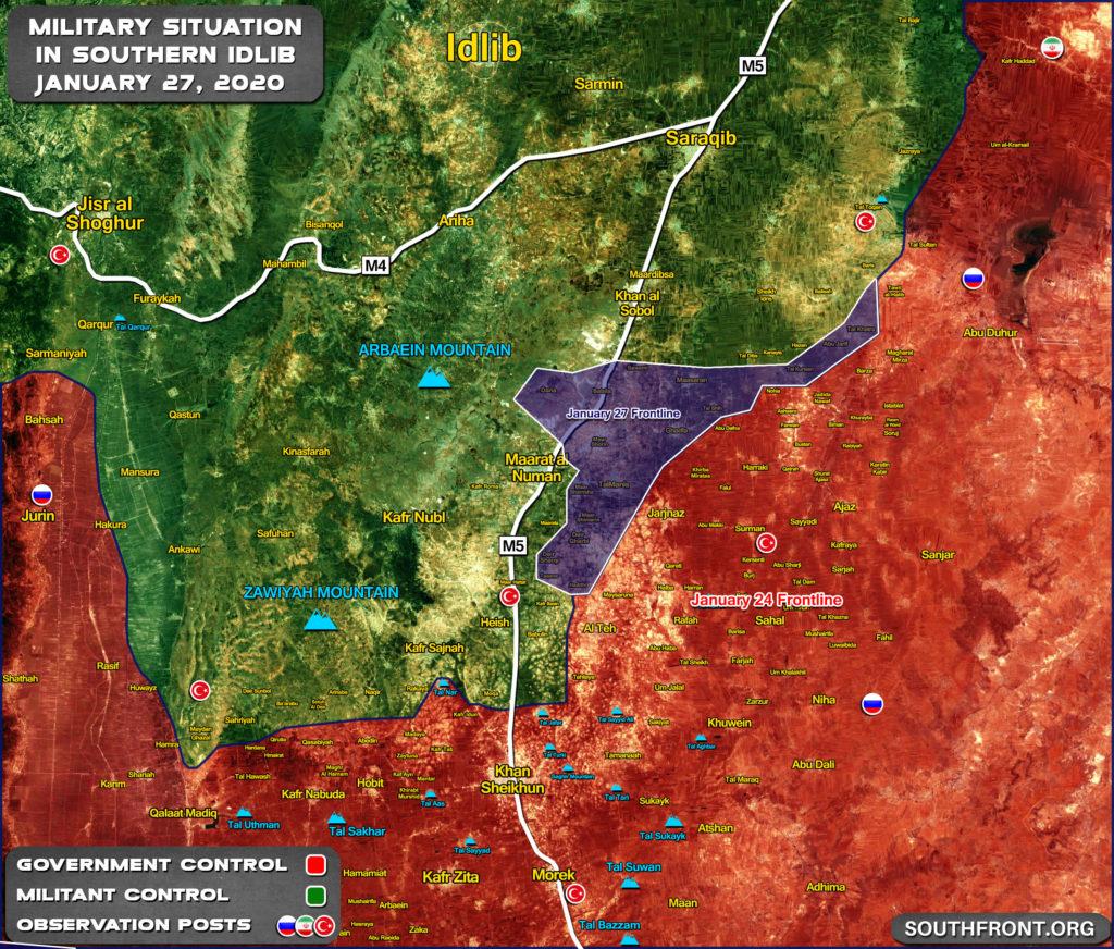 Syrian Army Is Preparing For Final Push To Liberate Maarat al-Numan (Map Update)