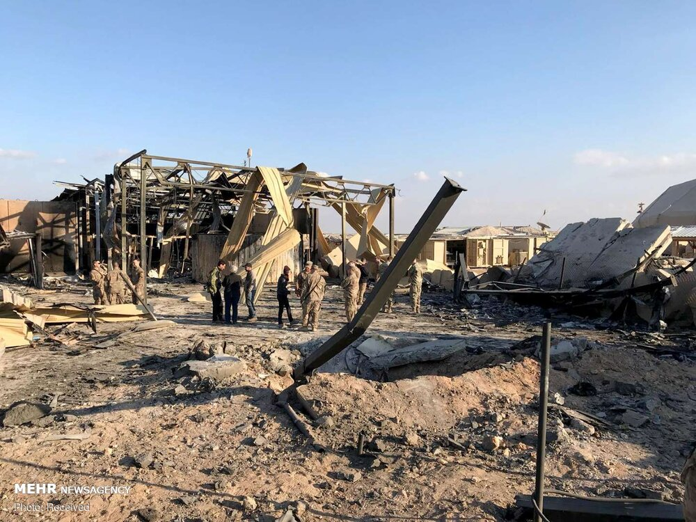 In Photos: US-operated Ayn al-Assad Airbase After Iranian Missile Strike