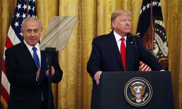 "Trump Unveils His ""Deal Of The Century"" For Israeli-Palestinian Question"