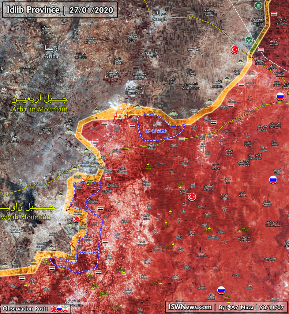 Government Forces Develop Advance On Militants' Positions In Southeastern Idlib (Map Update)