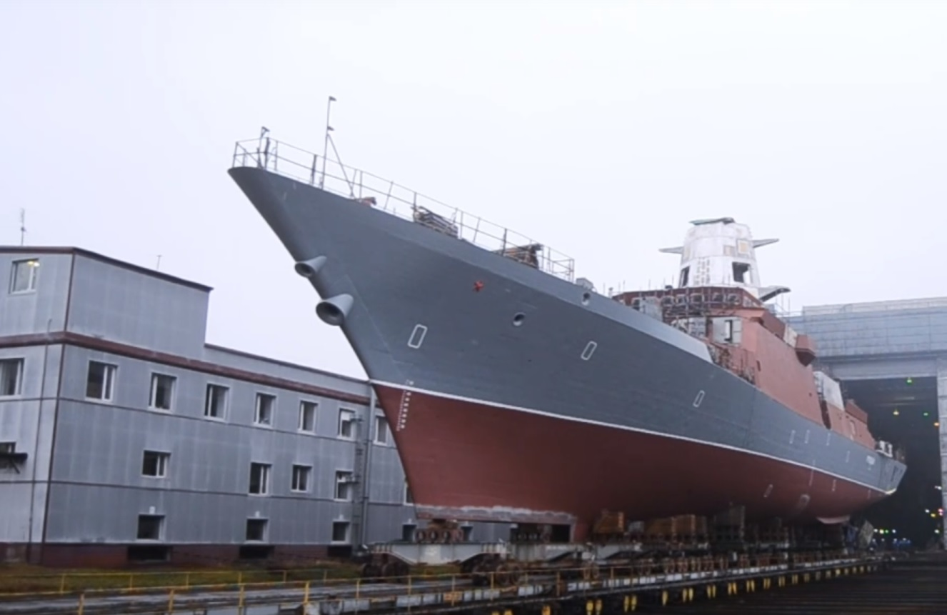 New Project 20380 Corvette Launched For the Russian Navy