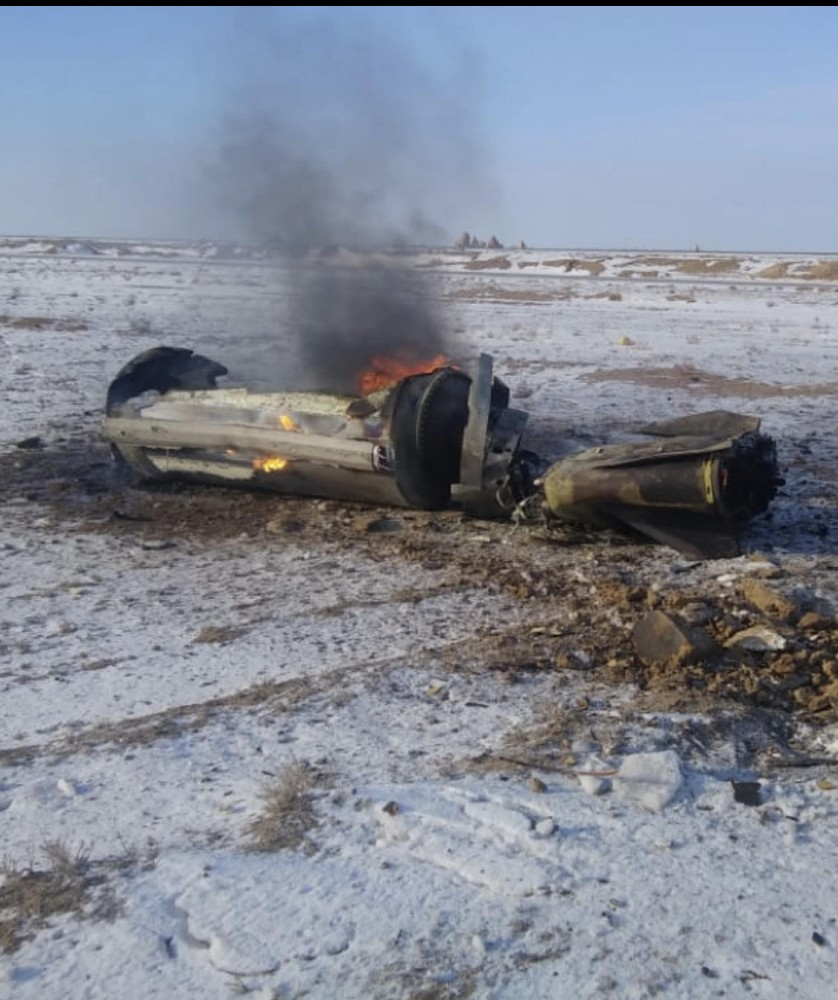 Iskander-M Missile Fell In Kazakhstan After Covering Over 600km