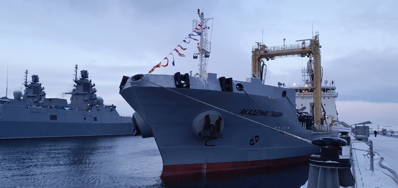 Russia's Northern Fleet Received Its New Replenishment Oiler - the Akademik Pashin tanker