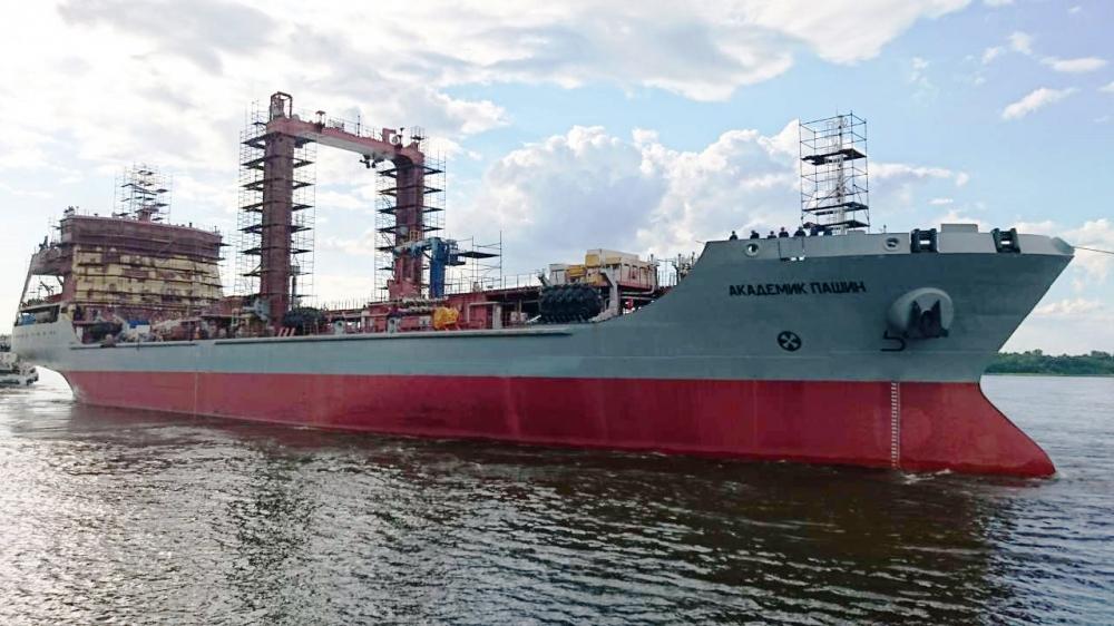 Russia's Northern Fleet Received Its New Replenishment Oiler - the Akademik Pashin tanker