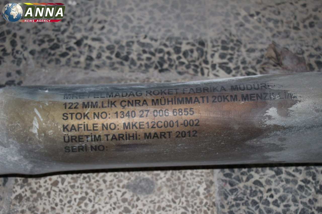 Turkish-Made Rockets Were Used In Recent Deadly Attack On Aleppo City (Photos)