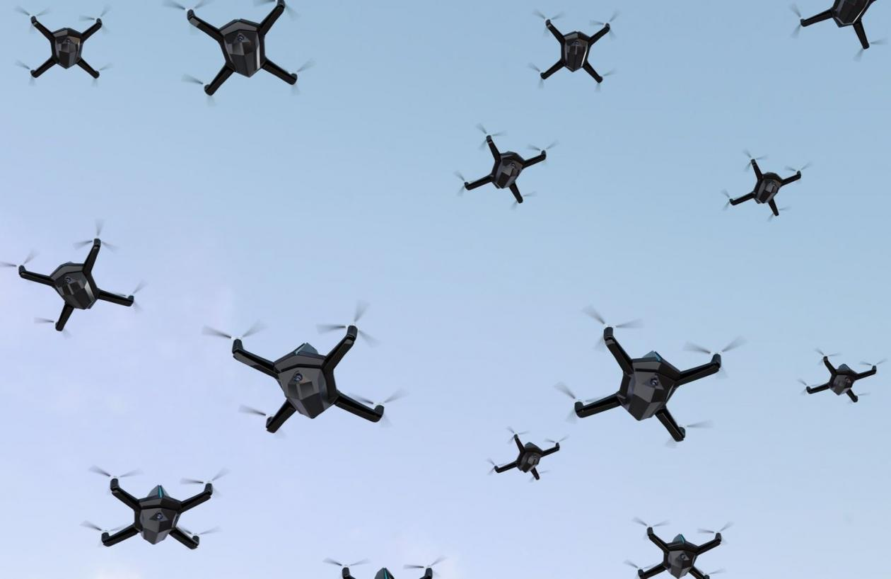 Pentagon Seeking Partners in Developing AI-Controlled Drone Swarms