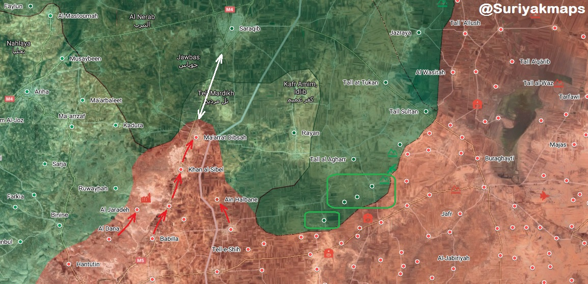 Syrian Army Captures Two New Towns Near Saraqib In Southeast Idlib