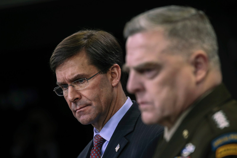 Chaos In Pentagon: Defense Secretary Denounces Statement On Troop Withdrawal From Iraq