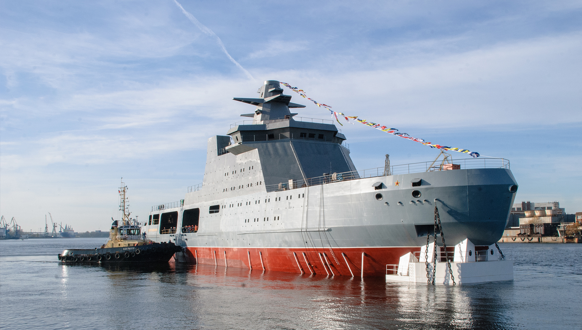 Russia's FSB To Receive a Project 23550 Patrol Icebreaker
