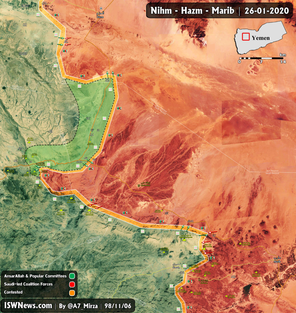 In Maps: Saudi-backed Forces Are On Retreat In Northwestern Yemen