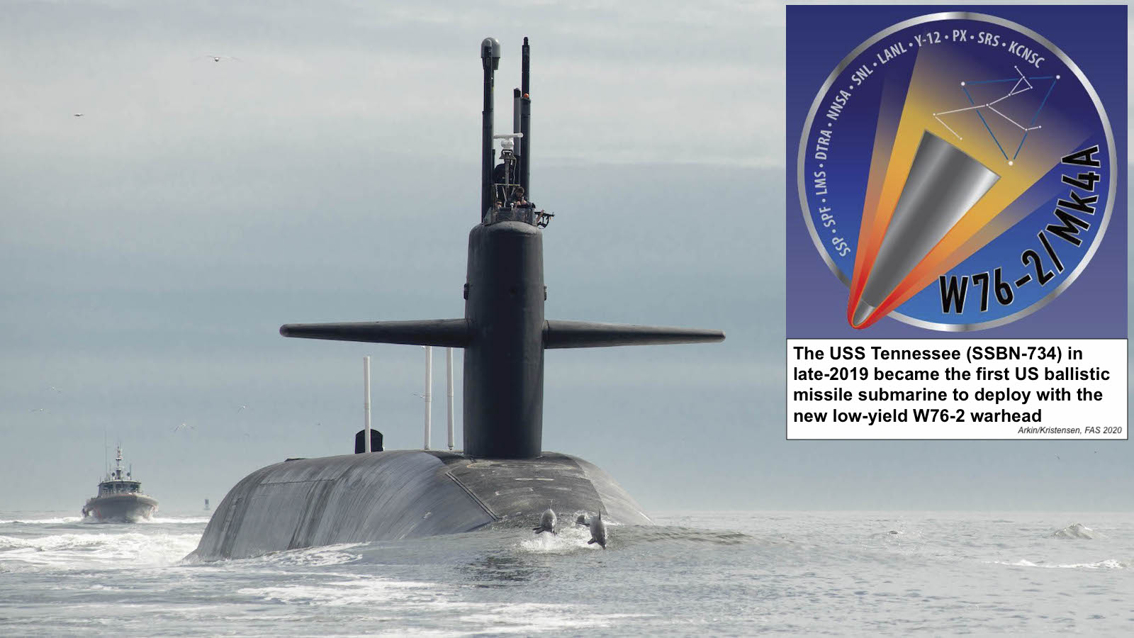The US Deployed Its New W76-2 Tactical Nuclear Submarine Warhead