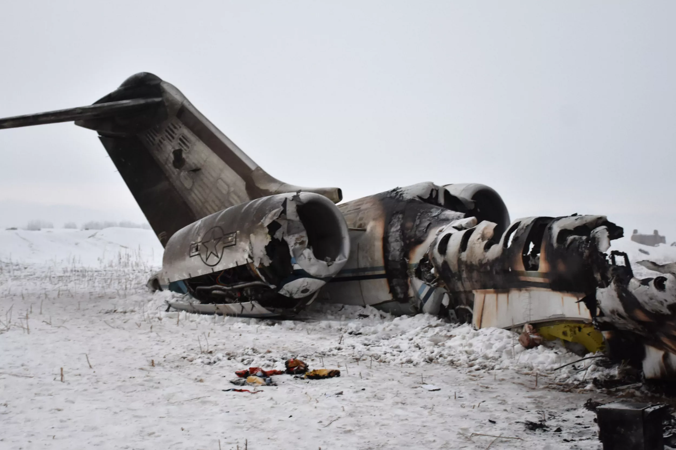 More Details On Mystery Crash Of US Air Force E-11A Military Plane In Afghanistan