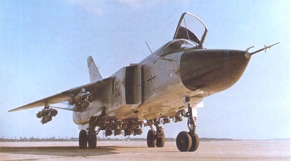 50th Anniversary of the maiden flight of the Russian Variable Sweep Wing Su-24 Strike Fighter Bomber