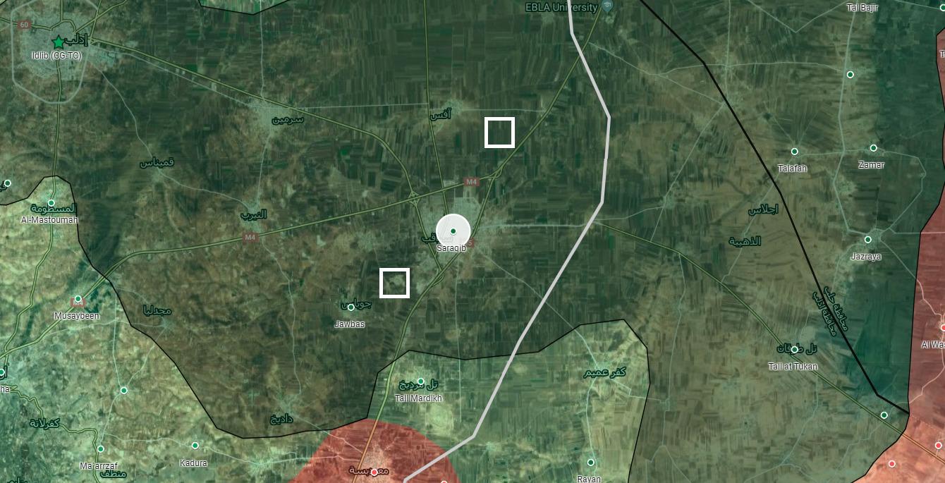 """Turecká Armáda Stanovuje Nové """"Pozorovacie"""" v Blízkosti Sýrie Saraqib"""