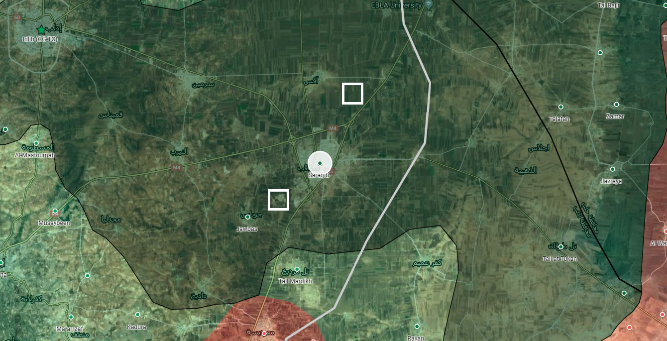 "Turkish Army Establishes New ""Observation Post"" Near Syria's Saraqib"