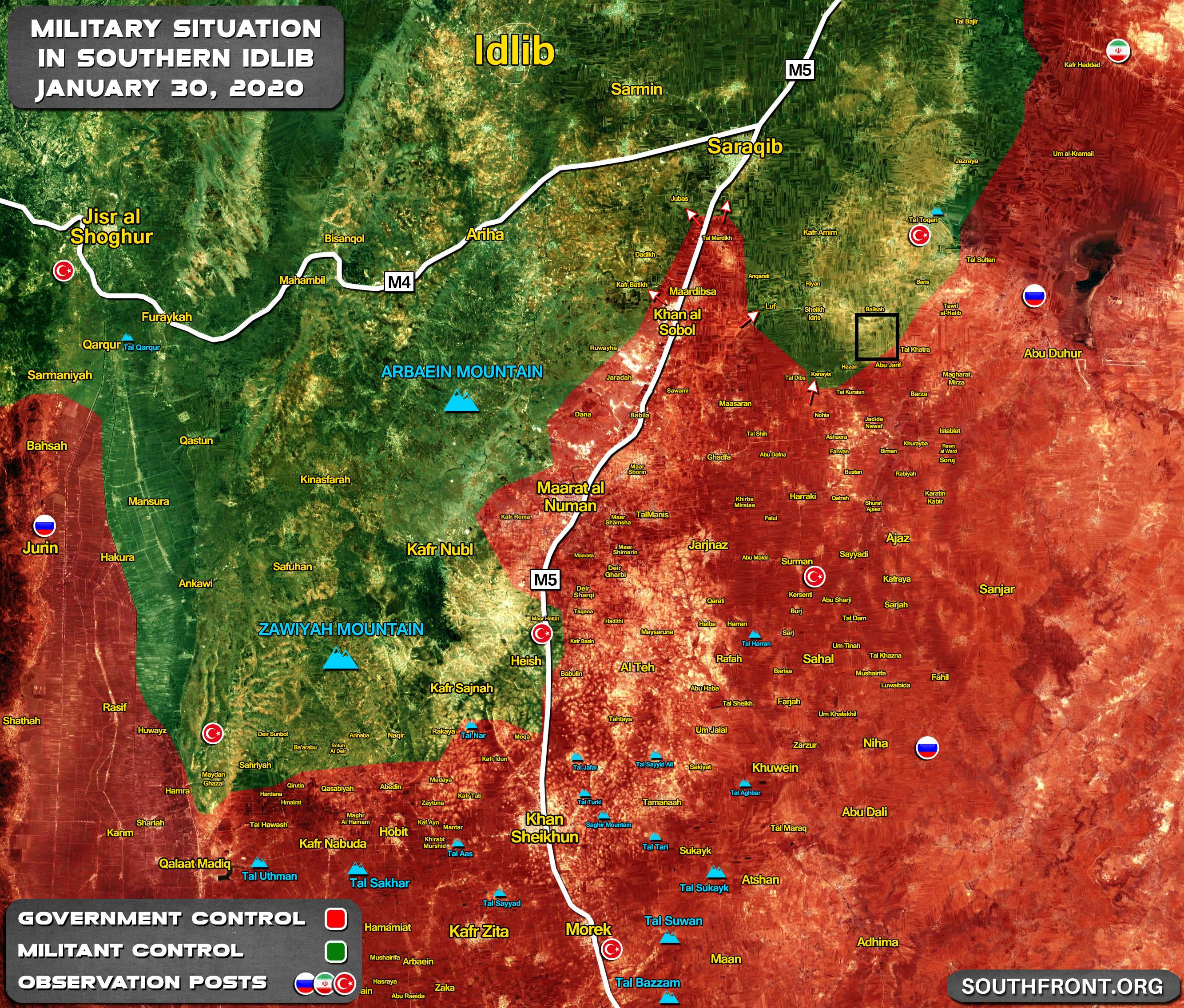 Sýrska Armáda Zachytáva Inom Kopci V Juhovýchodnej Idlib