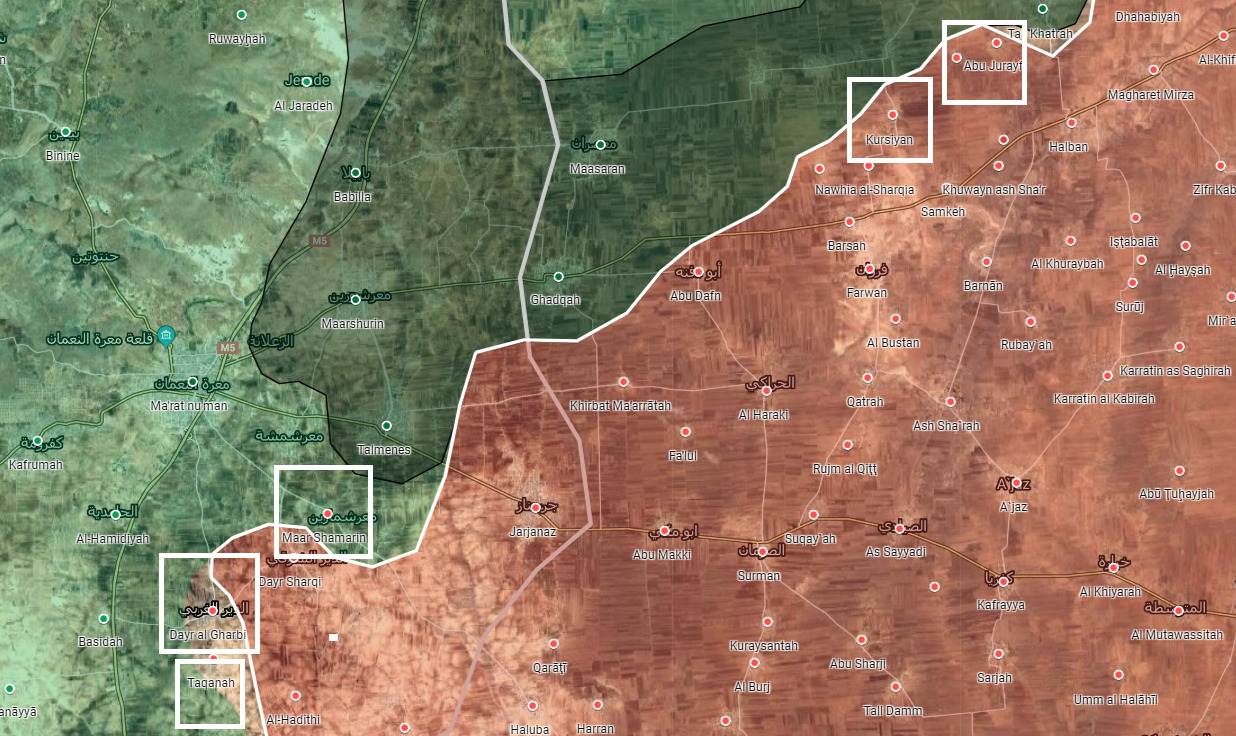 Syrian Army Rips Through Militants' Defense, Liberates Five More Towns In Southeast Idlib