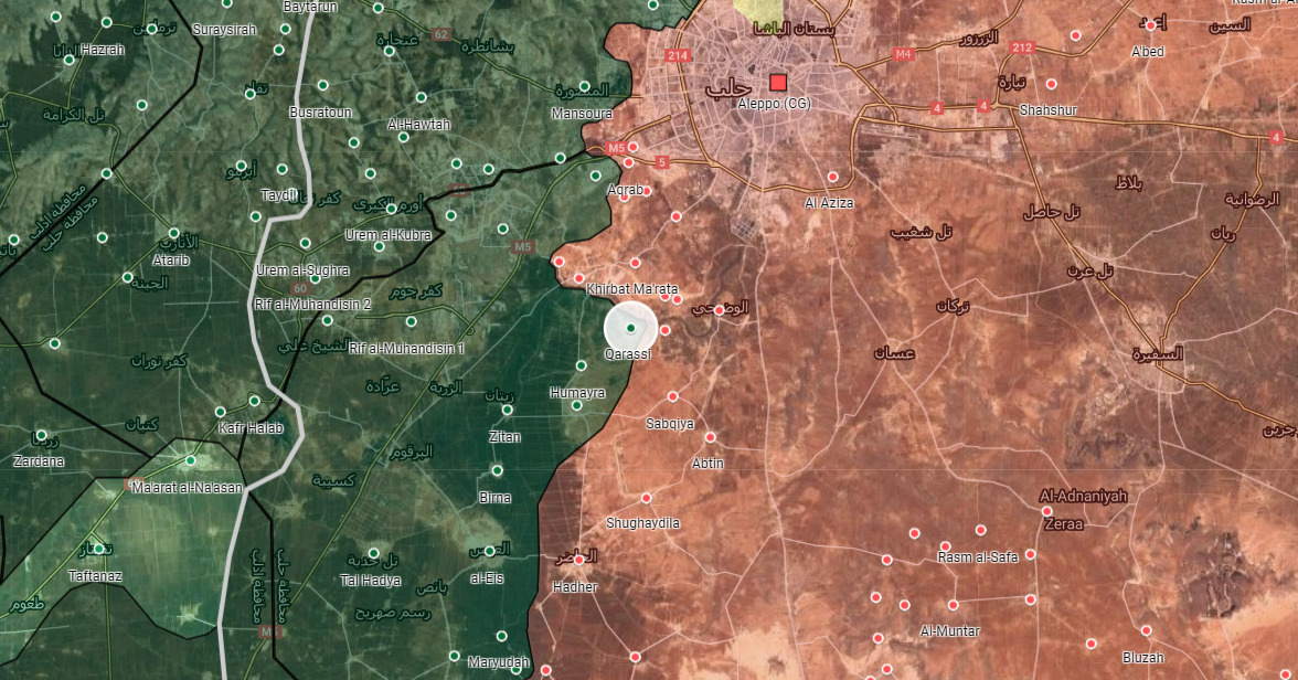 Syrian Army Advances Towards Another Town In Southwest Aleppo
