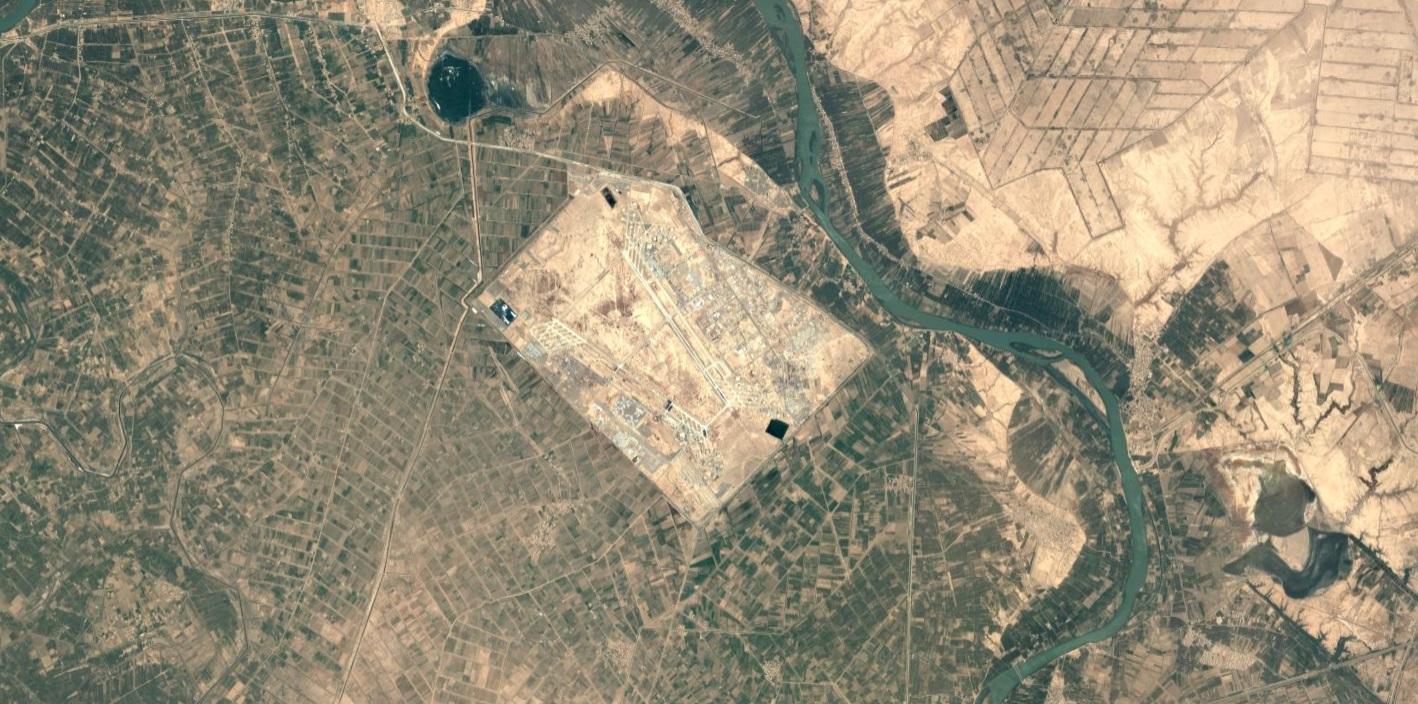 Rocket Lands Near Base Housing U.S. Troops In Northern Iraq