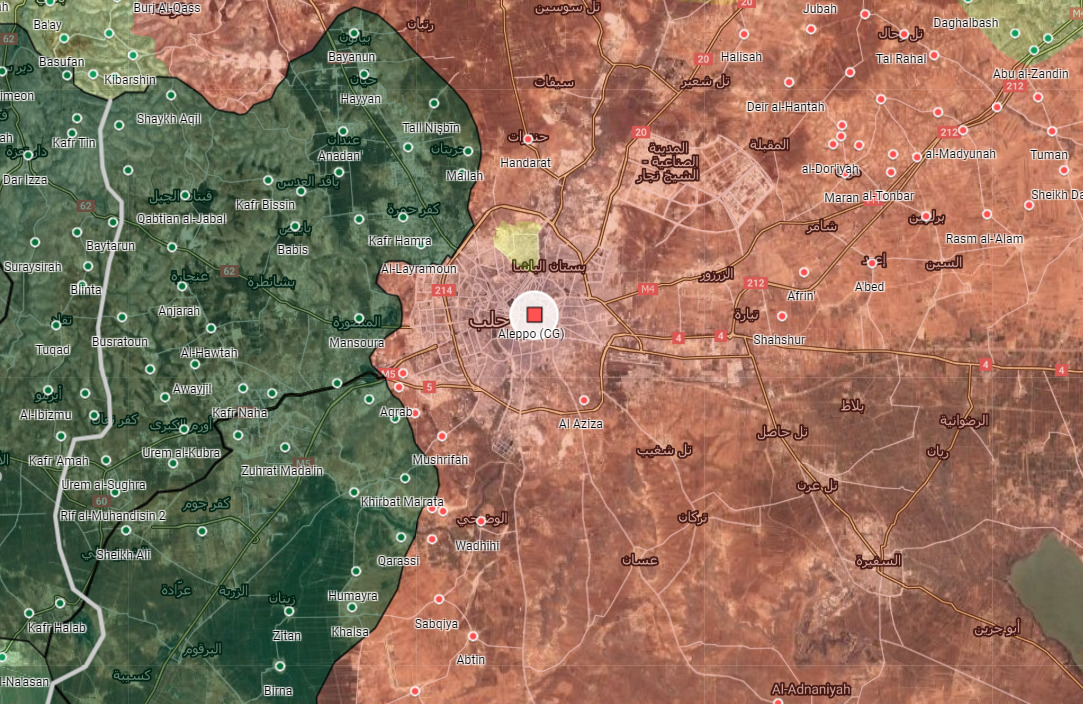 Syrian Army Kicks Off Ground Offensive To Secure Aleppo City