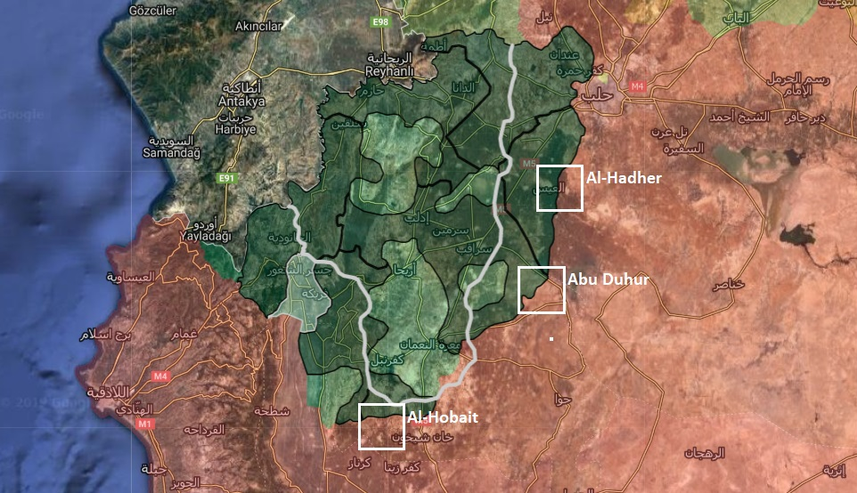 Syrian Army To Open Three Humanitarian Corridors For Civilians In Greater Idlib