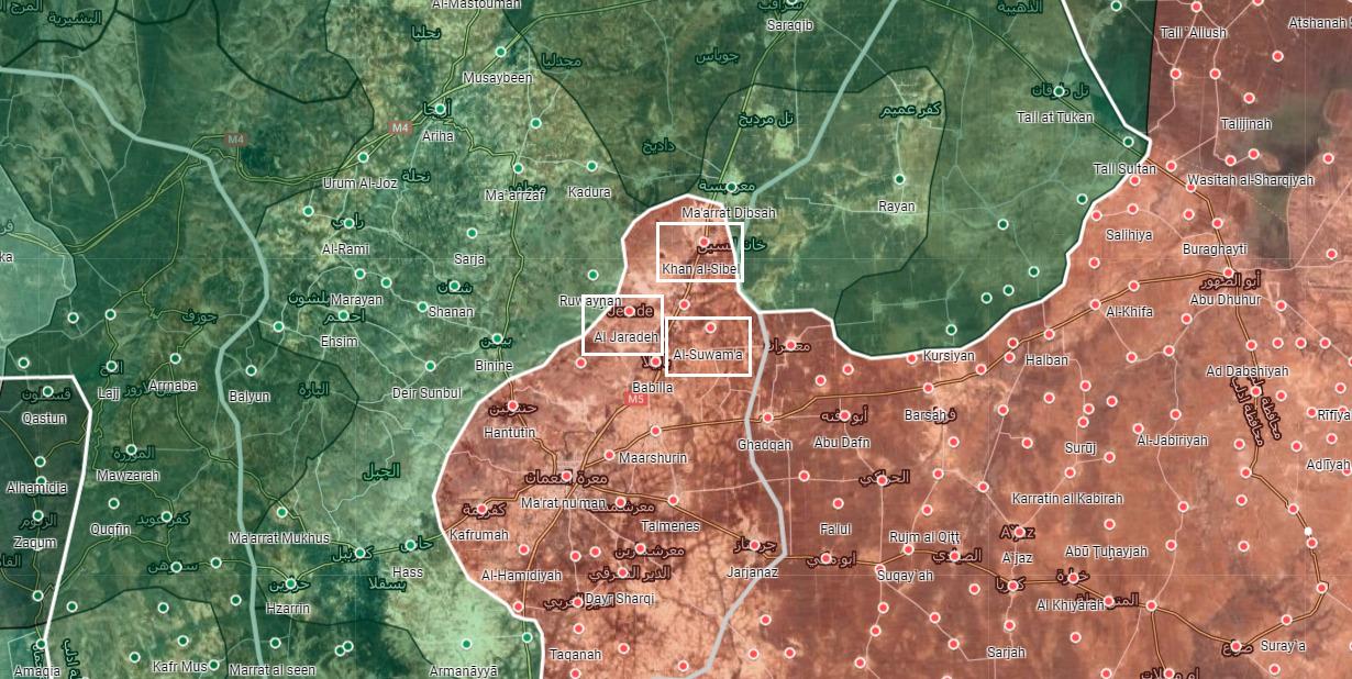 Sýrska Armáda Preddavky K Saraqib Mesto, Zachytáva Viaceré Mestá