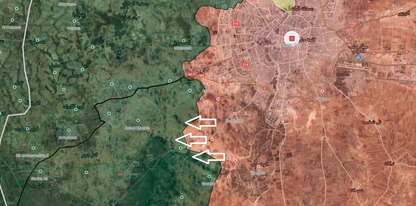 Syrian Army Gains More Ground In Southwest Aleppo. Militants' Defense Collapsing