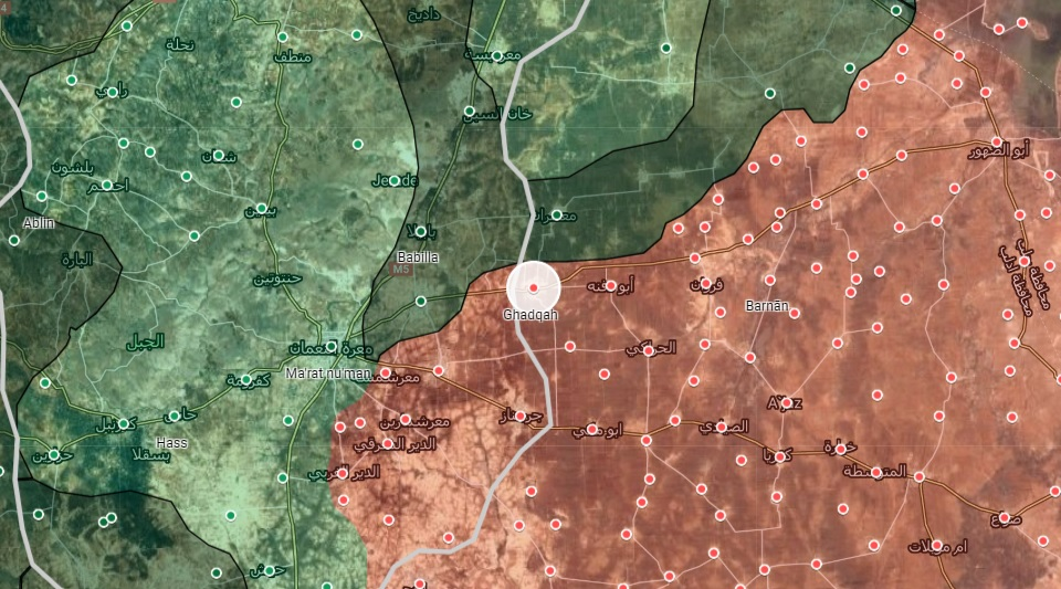 Syrian Army Advances Northeast Of Ma`arat al-Nu`man, Secures New Town