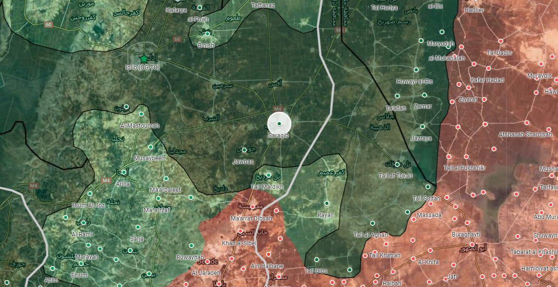 Sýrsky Pro-Vládnych Zdrojov Vyvrátila Správy O Armáde Dosiahnuť Saraqib